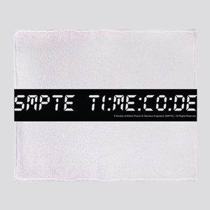 SMPTE Time Code Throw Blanket