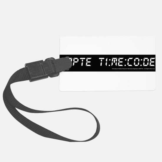 SMPTE Time Code Luggage Tag