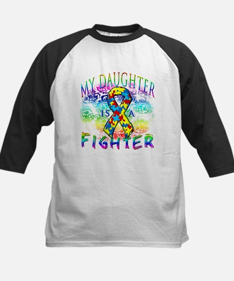 My Daughter Is A Fighter Baseball Jersey