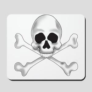 Skully Crossbone Mousepad