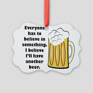 believe-in-beer Ornament