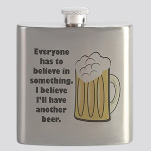 believe-in-beer Flask