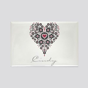 Love Cindy Rectangle Magnet