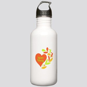 Square Dancing Heart Stainless Water Bottle 1.0L