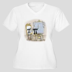 Pi_27 Rockwell (10x10 Color) Plus Size T-Shirt