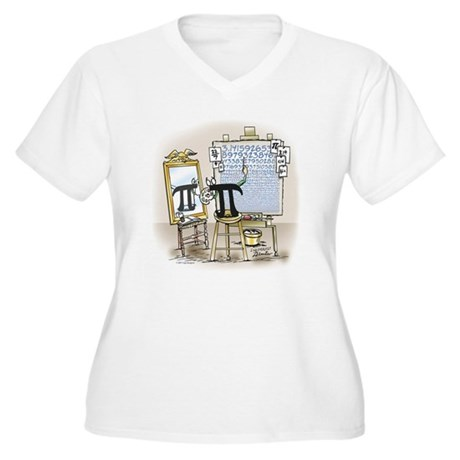Pi_27 Rockwell (10x10 Color).jpg Plus Size T-Shirt