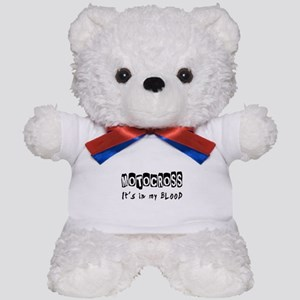 Motocross Designs Teddy Bear