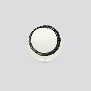 Ouroboros Ring Mini Button