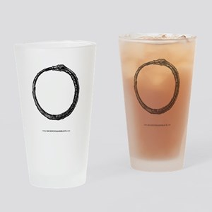 Ouroboros Ring Drinking Glass
