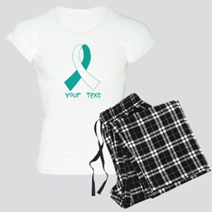 Personalized Cervical Cancer Ribbon Women's Light