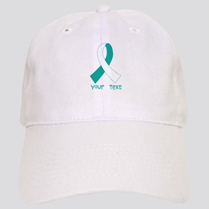 Personalized Cervical Cancer Ribbon Cap