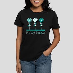 Cervical Cancer Daughter Women's Dark T-Shirt