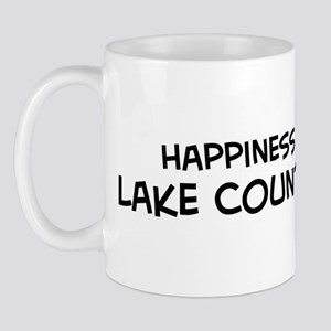 Lake County - Happiness Mug