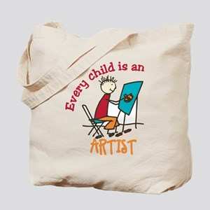 Ever Child is an Artist Tote Bag