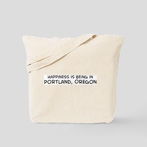 Portland - Happiness Tote Bag
