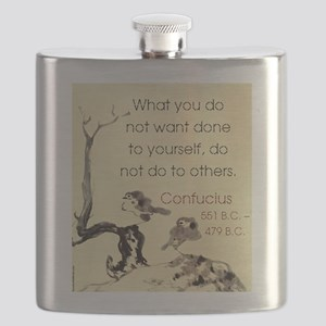 What You Do Not Want - Confucius Flask