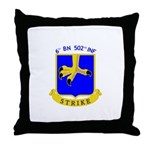 BBDE 6502nd INF Throw Pillow