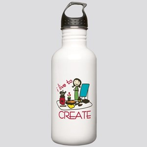 Live To Create Water Bottle