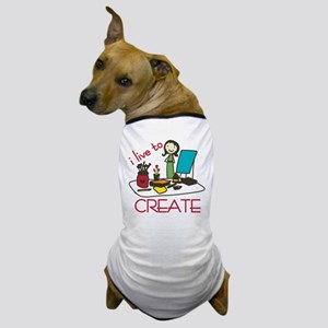 Live To Create Dog T-Shirt