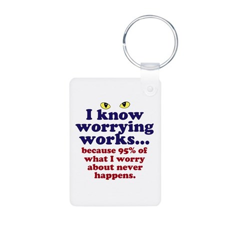 Worrying Works! Keychains