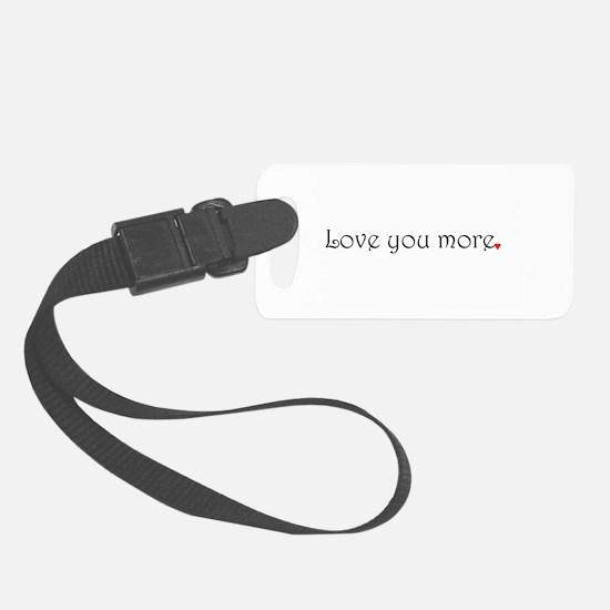 Unique Love Luggage Tag