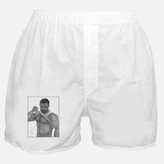 """WOOF"" Boxer Shorts"