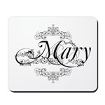 Personalized Mary Design Mousepad