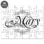 Personalized Mary Design Puzzle