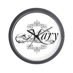 Personalized Mary Design Wall Clock