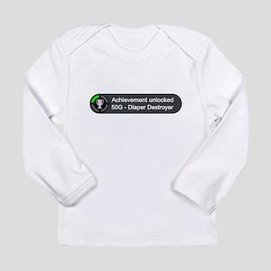 Diaper Destroyer (Achievement) Long Sleeve T-Shirt