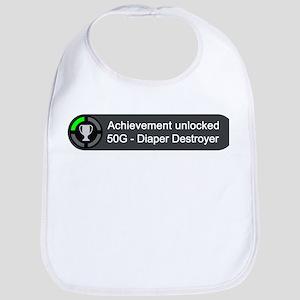 Diaper Destroyer (Achievement) Bib