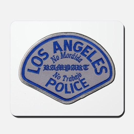 LAPD Rampart Division Mousepad