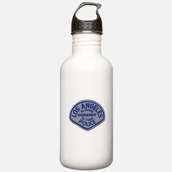 LAPD Rampart Division Water Bottle