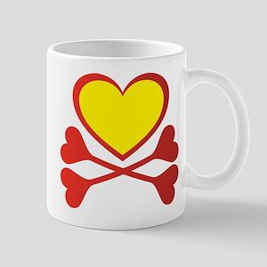 Hearts and Bones Mug