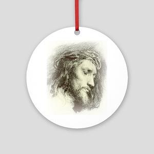 Ecce Homo Ornament (Round)