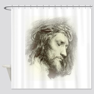 Ecce Homo Shower Curtain