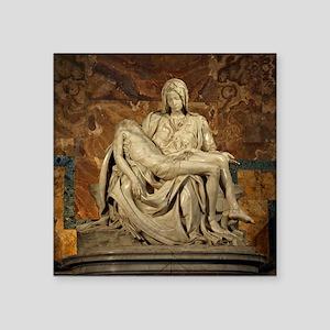 Michelangelos Pieta Sticker