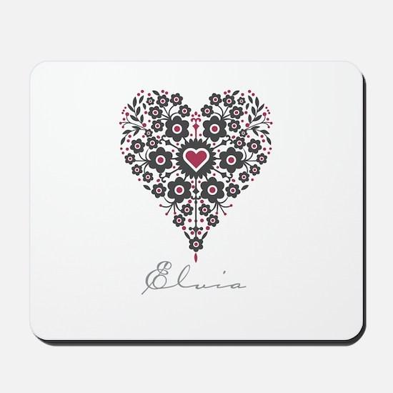 Love Elvia Mousepad