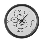 badrat Large Wall Clock