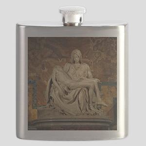 Michelangelos Pieta Flask