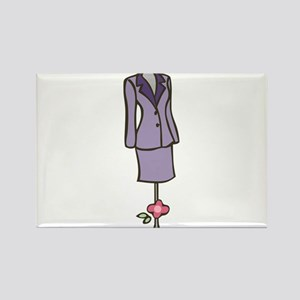 Dress Mannequin Rectangle Magnet