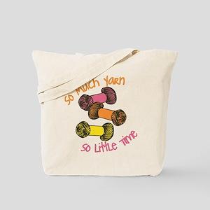 So Much Yarn Tote Bag