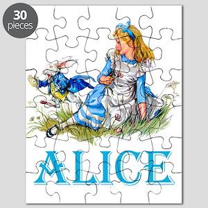 ALICE IN WONDERLAND - BLUE Puzzle