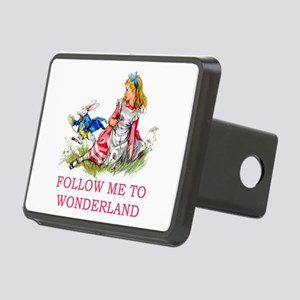 ALICE - Follow Me To Wonde Rectangular Hitch Cover
