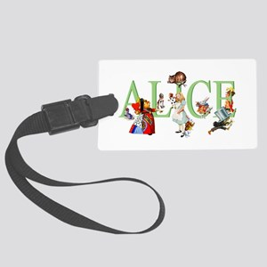 ALICE AND FRIENDS Large Luggage Tag