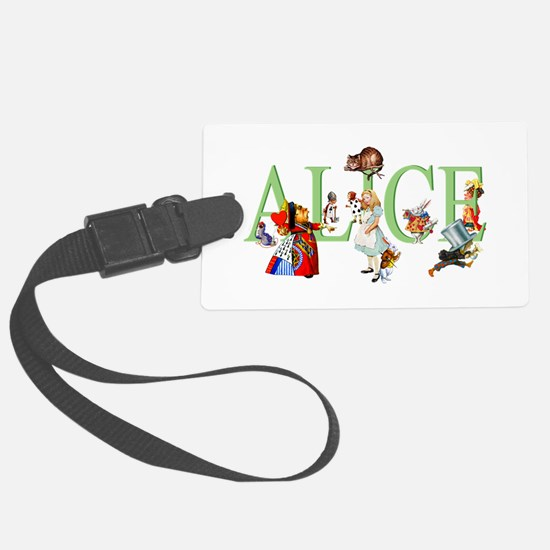 ALICE AND FRIENDS Luggage Tag