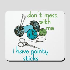 Pointy Sticks Mousepad
