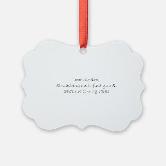 Cute Ask Ornament