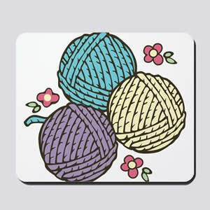 Yarn Trio Mousepad