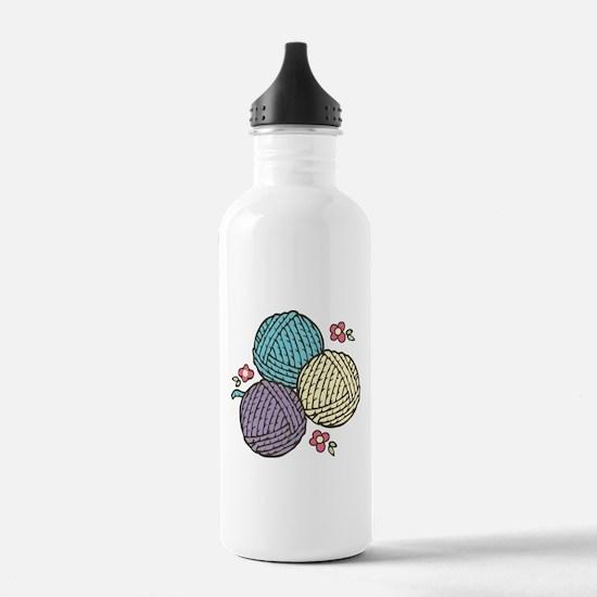 Yarn Trio Water Bottle